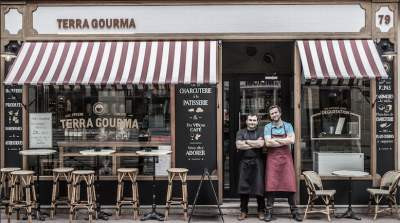 Laurent and Guillaume, the Terra Gourma owners