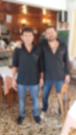 Manolis und Giorgos Spyridakis