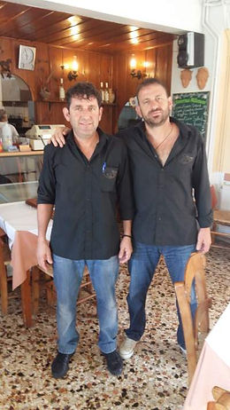 Manolis and Giorgos Spyridakis