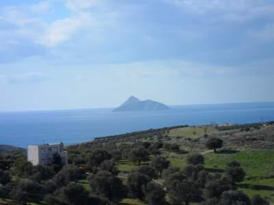 Die Paximadia Insel