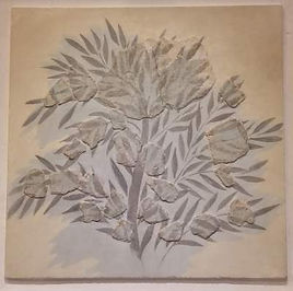 Minoan fresco of olive tree