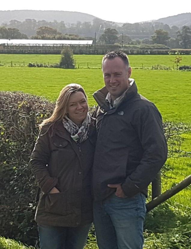Fiona and Mark Rowden