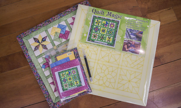 Quilt Magic No-Sew Wall Hangings