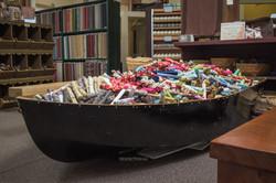 Boat of Fat Quarters