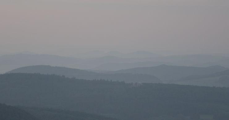 Landschaft am morgen