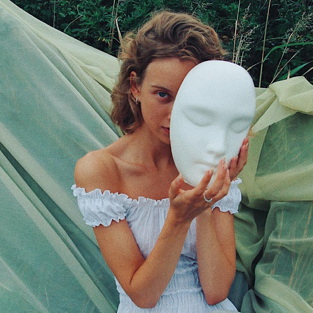 gevangen achter een masker