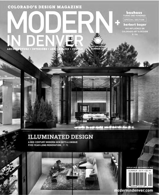 Modern In Denver - Cover - SUMMER 2019