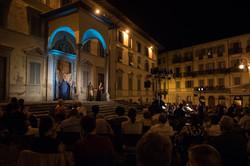 Piazza della Badia (Arezzo, Italy)