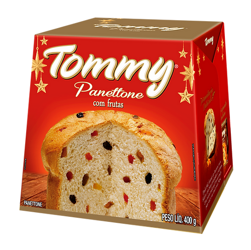 PANETTONE TOMMY 400GRS