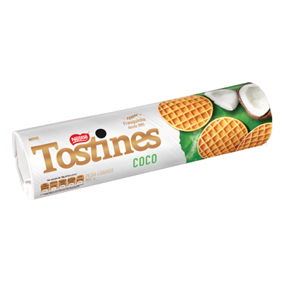 Biscoito Coco Tostines 160 grs