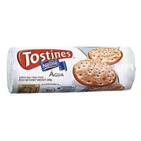 BISCOITO AGUA TOSTINES 200GRS