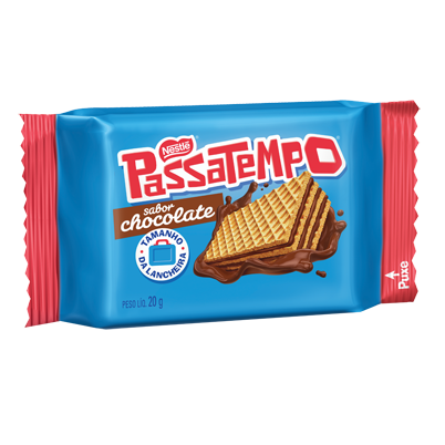 Mini Wafer Chocolate Passatempo 28x20 grs