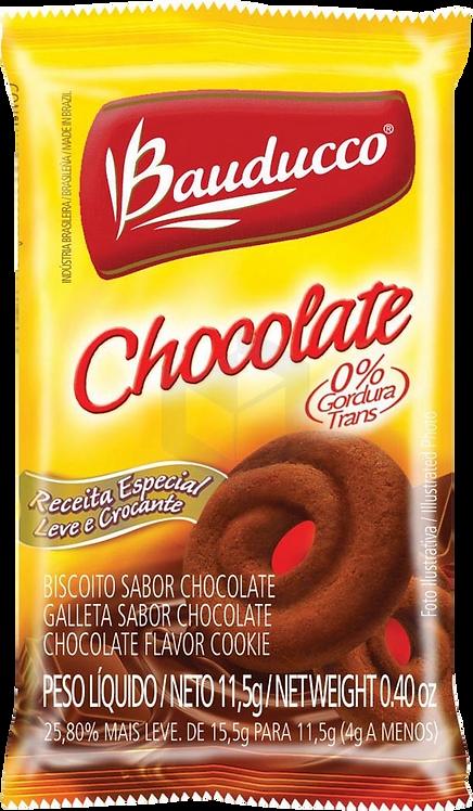 Biscoito Sachê Bauducco Amanteigado Chocolate 400 sachês