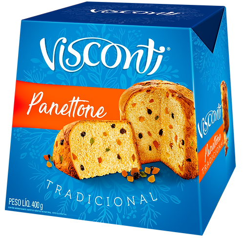 PANETTONE VISCONTI 400GRS