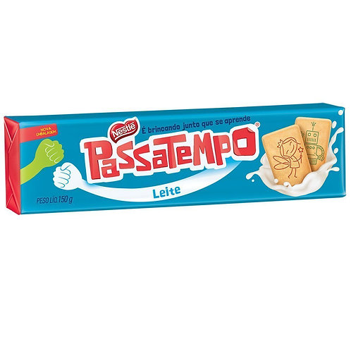 PASSATEMPO LEITE 150 GRS
