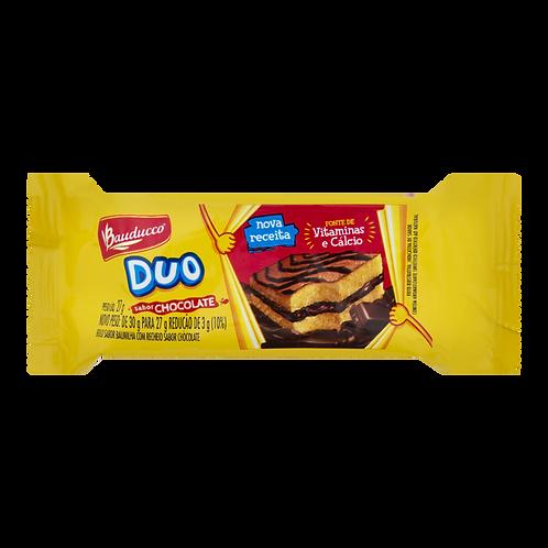 Bolinho Duo Chocolate Bauducco 90x27grs