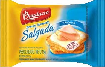 Torrada Salgada 126x15grs Bauducco