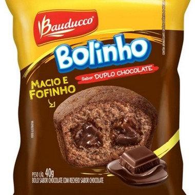 Bolinho Duplo Chocolate Bauducco 40 grs