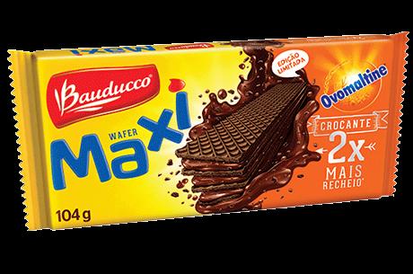 Wafer Maxi Ovomaltine 104 grs.