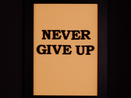 When you feel like giving up, remember this!