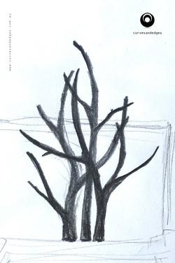 'Forest' Sculpture Concept Sketch