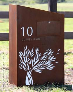 Tree Of Life Mailbox