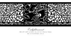 'Enlightenment' Gate Artwork Graphic