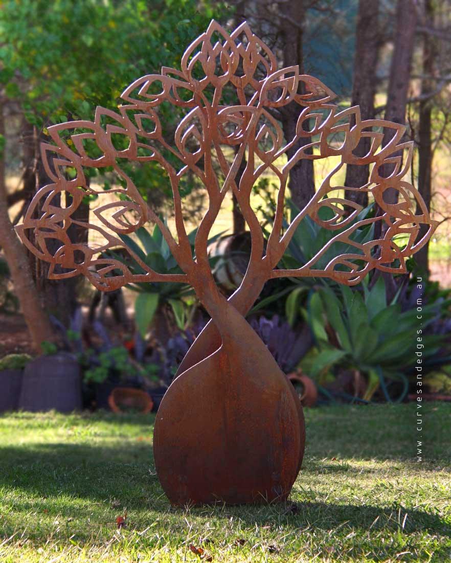 'Boab Tree' Sculpture Art