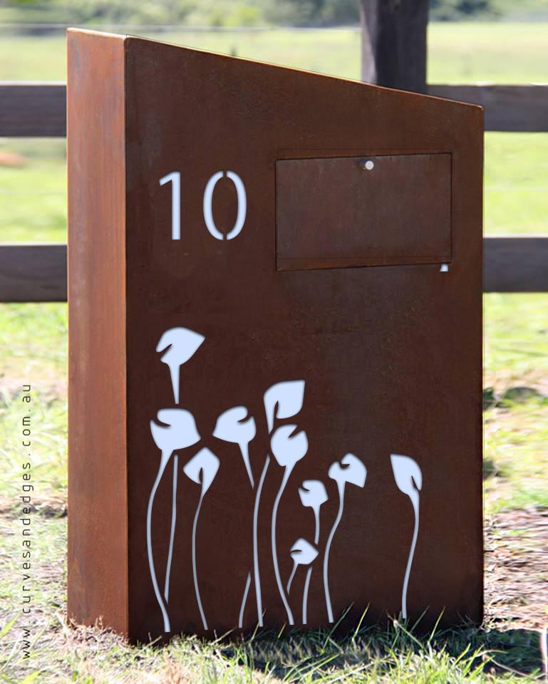 Lillies Mailbox