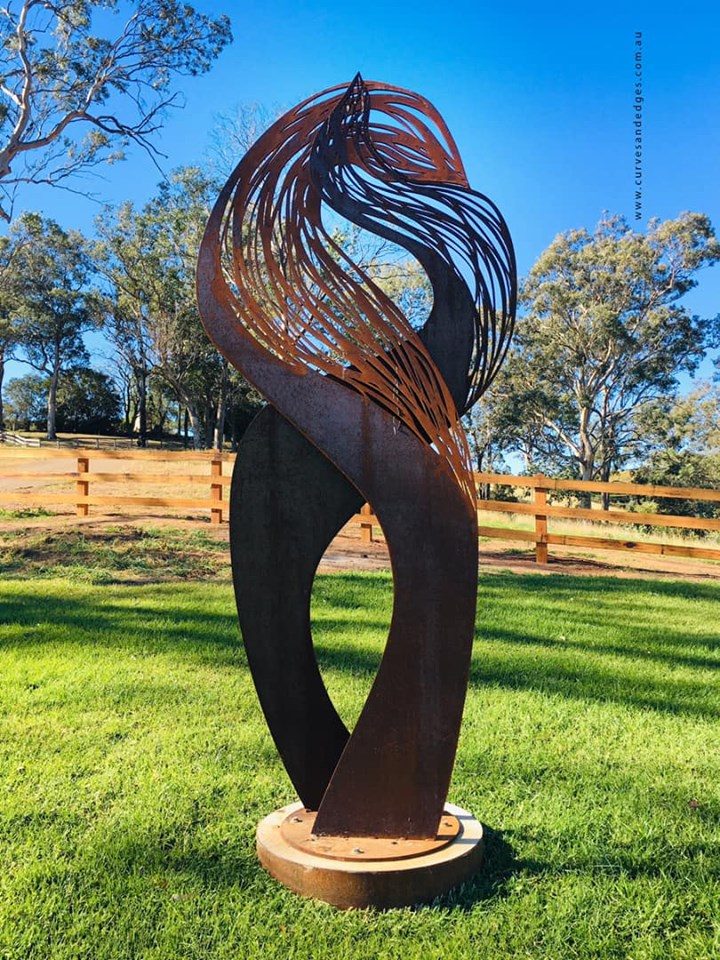 The Embrace Sculpture