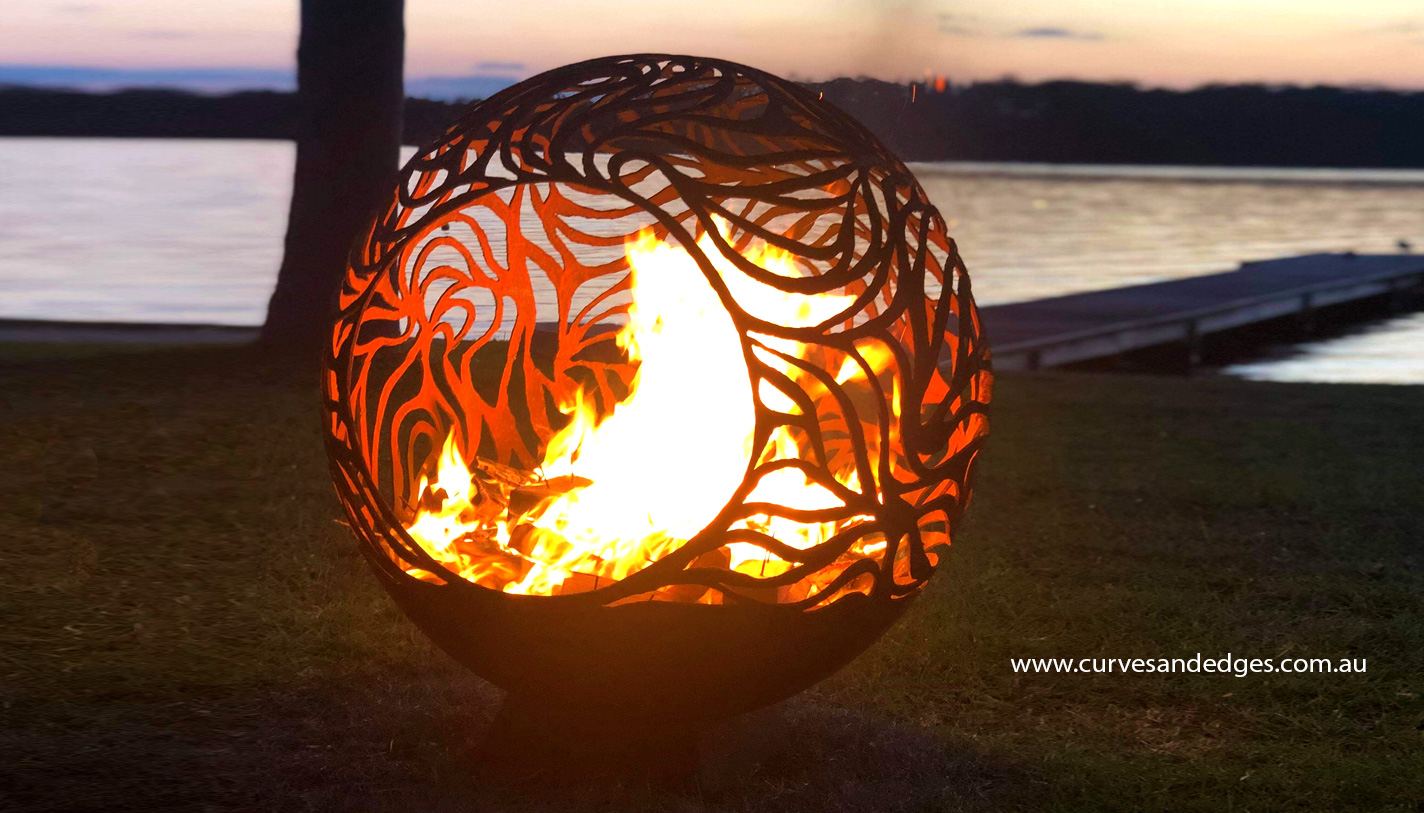 Abundance Fire Pit Sphere