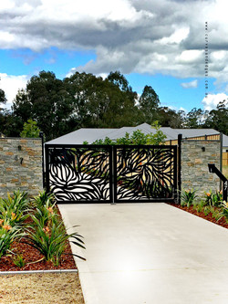 Abundance Two Door Automatic Gate