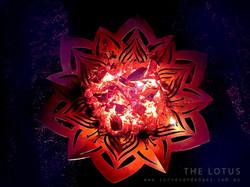 Lotus Flower fire Pit, Artist Sharon Romeo Curves and Edges Metal Art3