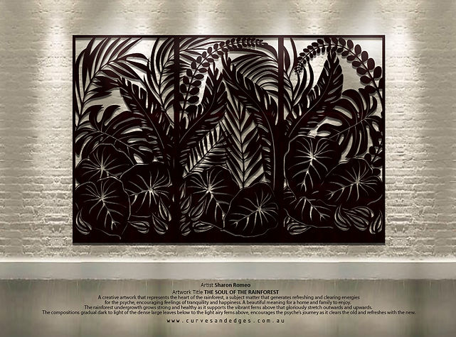 The Soul of the Rainforest - Artist Shar