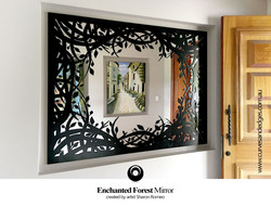 The Enchanted Forest Mirror Art