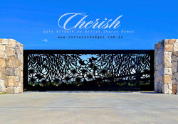 Cherish Metal Gate