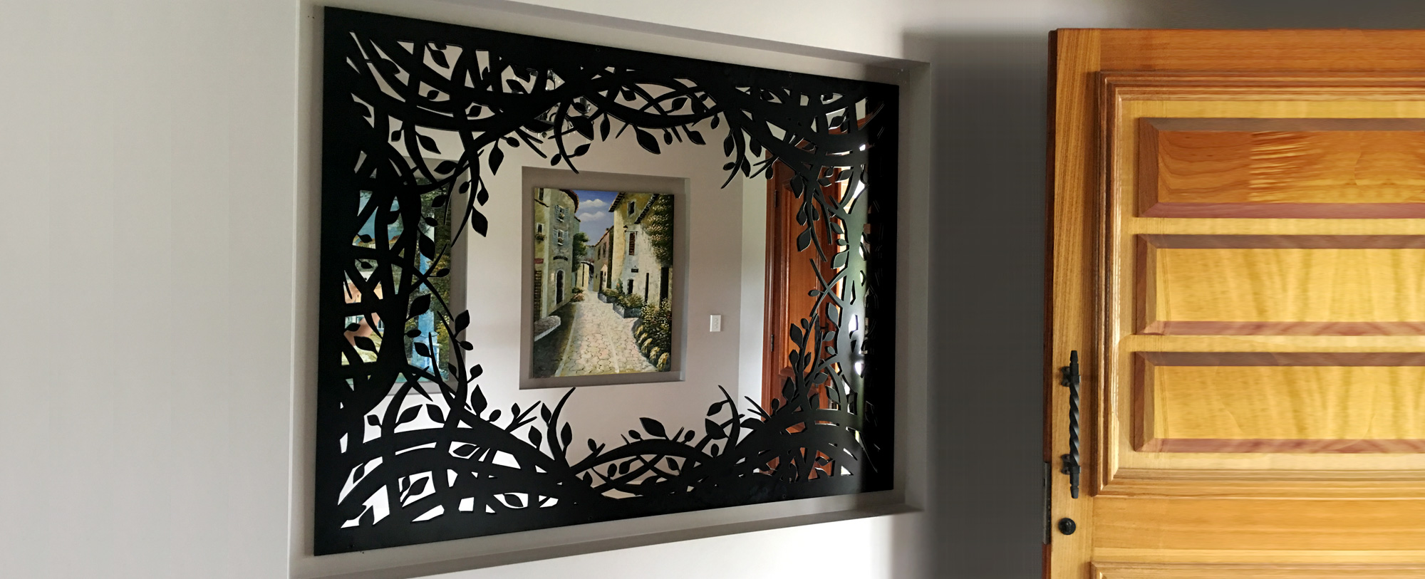 Enchanted Forest Mirror