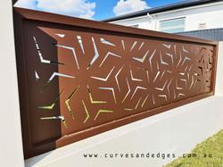 metal gate Curves and Edges - Artist Sha