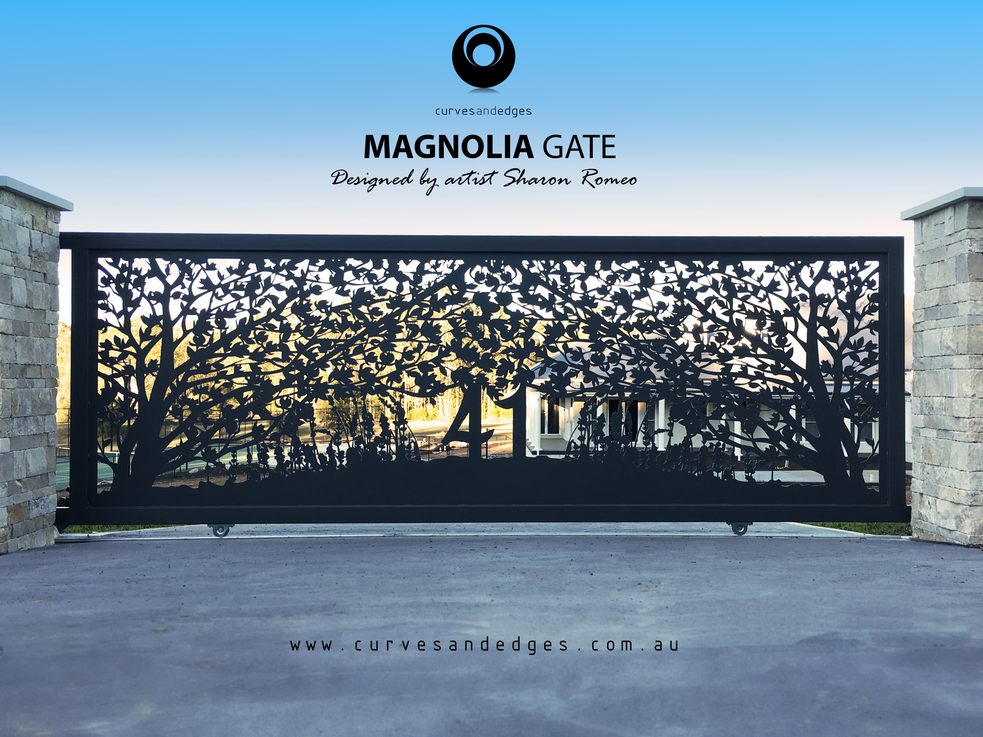 Magnolia Gate Art