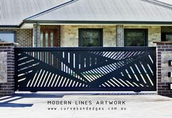 Modern Lines Gate