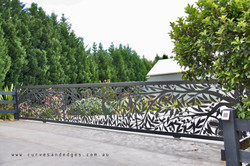 The Australian Bush Metal Gate
