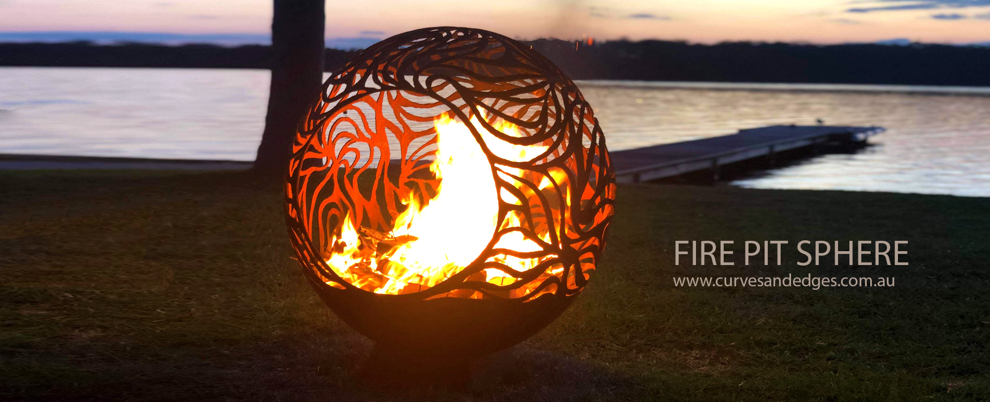 Fire Pit Sphere influenced by our Ab
