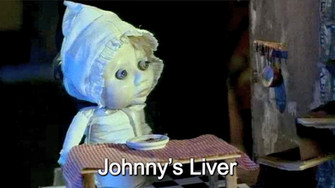 Johnny watches the ghost