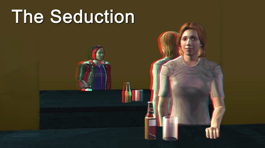 The Seduction (3D) - bar scene