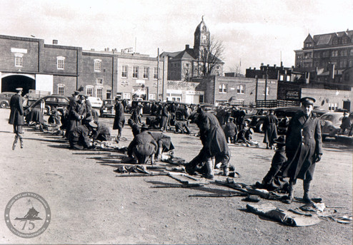 C Company, 116th Reg, 29th Div. - WWII Photo