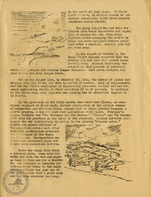 "Highlights from ""The History of the 318th Fighter Group"" - Page 08"