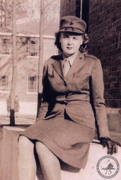 Barrows, Shirley Mitchell - WWII Photo