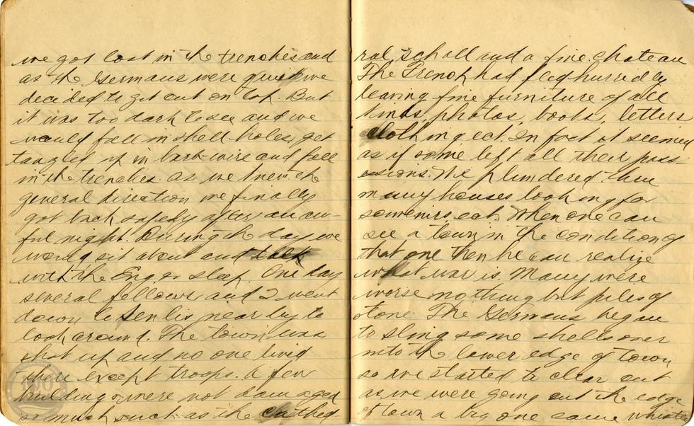 Life, Millard - WWI Diary #17