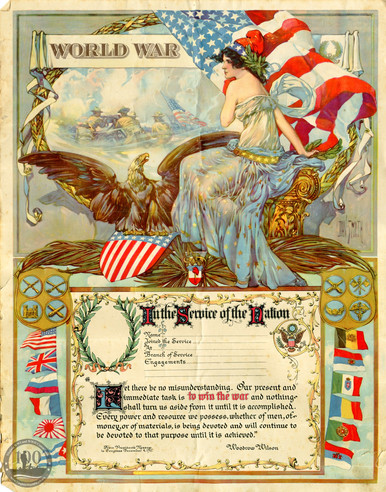 Ward, Edgar L. - WWI Document