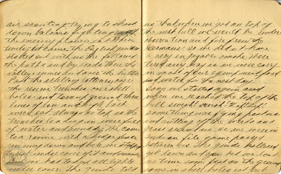Life, Millard - WWI Diary #11